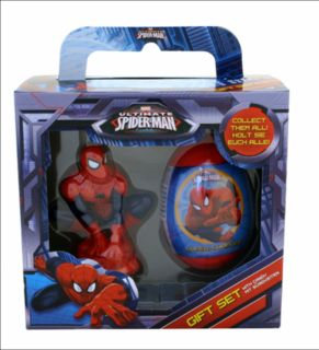 Spiderman Surprise Eggs Candy Gift Box Set Figure Toy Birthday Party Supply