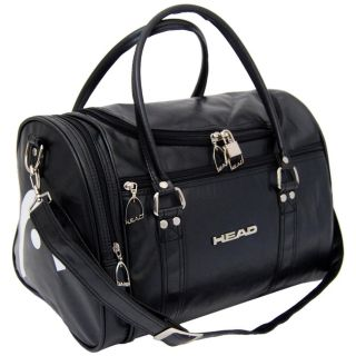 Head St Moritz Weekend Overnight Travel Holdall Sports Gym School Bag Black