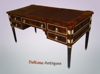 Majestic French Directoire Style Executive Desk