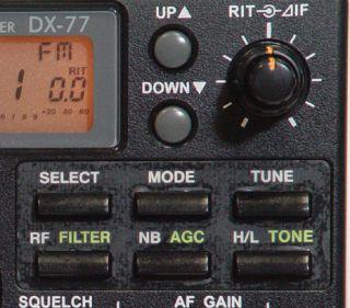Alinco DX 77 HF Transeiveralinco DX 70 HF Transceiver
