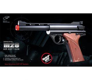 New Double Eagle WW2 German Luger MKI Spring Airsoft Pistol Hand Gun w 6mm BB