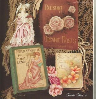 Feminine Things by Brenda Jansen Victorian Pattern Book Free SHIP