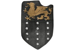 Crusader Medieval Knight Foam Fantasy Jousting Shield Brand New