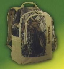 Remington Realtree Camo Day Backpack Black Canyon Hunting Camping Hiking Fishing