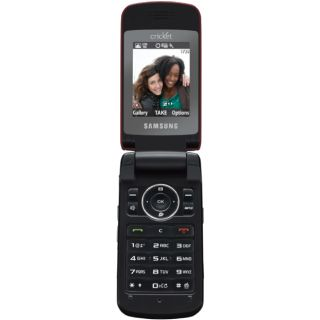 New Samsung MyShot II for Cricket Music Player Camera Sleek Stylish Flip Phone