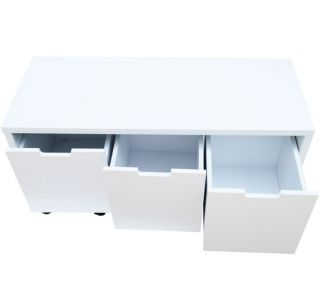 File Cabinet Drawer Wood Stool Filling Home Office Furniture Business Industrial
