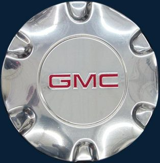 "'05 09 GMC Envoy Polished Wheel Center Cap for 17"" Rim 6052 GMC Part 9595881"