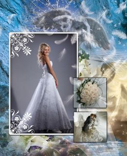 Elegant Wedding Photo Album PSD Templates Photoshop V 5
