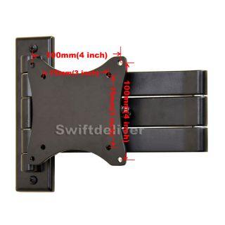 Tilt Swivel LCD LED Monitor TV Wall Mount for Vizio 19 22 24 26 29 32 37 39 C7B