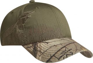 Port Authority Embroidered Hunting Fishing Camo Camouflage Cap C820