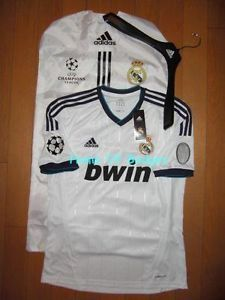 Real Madrid 2012 13 Home Champions League Football Shirt 110 Anniversary W41768