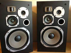 Pioneer HPM 70x Floor Standing Speakers Japan RARE