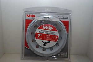 "MK 304CG1 7"" Diamond Segmented Cup Wheel for Grinders Dewalt Hilti Hitachi"