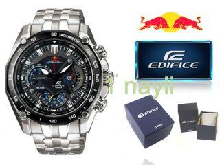RRP$270 New Casio Edifice Watch Red Bull Racing EF 550RBSP for Men