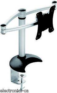 Full Motion Single Swivel Tilting Arm 14'' 18'' LCD Monitor Desk Mount