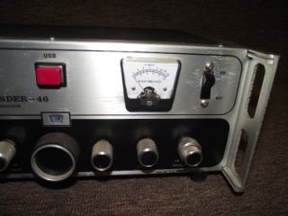 Vintage Mark Sidewinder 46 High End CB Radio Base Station RARE