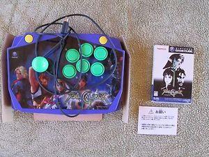 Hori fightstick for Nintendo GameCube Arcade Stick Plus Soul Calibur II Import