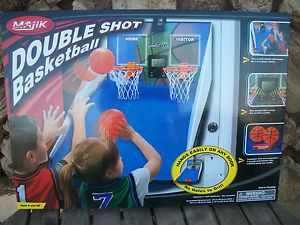 Kids Double Shot Basketball Hoops Arcade Game LCD Score Board Stadium Sounds
