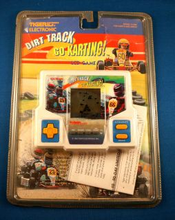 80s Dirt Track Go Karting Tiger Electronic Handheld Video LCD Game Racing Kart