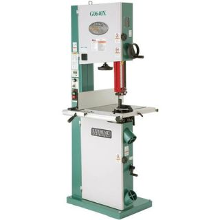 """G0640X 17"""" Metal Wood Bandsaw with Inverter Motor Grizzly Industrial"""