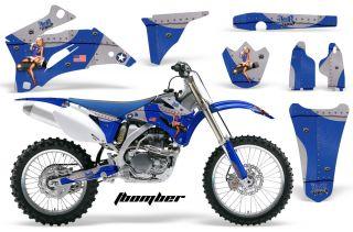 AMR Racing Off Road Dirt Bike Graphic MX Decal Kit Yamaha YZ 250 450 F 06 09 TBU
