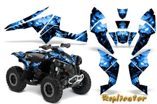 Can Am Renegade Graphics Kit Decals Stickers Creatorx RCBL