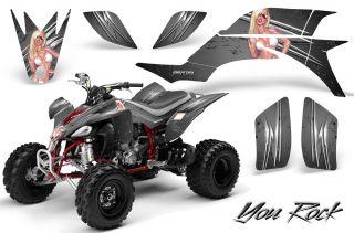 Yamaha YFZ 450 03 08 ATV Graphics Kit Decals Stickers Creatorx Yrs