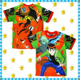 Ben 10 Alien Force T Shirt Age 3 4 4 5 6 7 Years Toys Boys Clothes Size 4 6 8