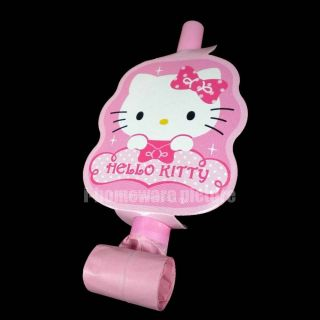 Hello Kitty Party BLOWOUT Supplies Toy 6X Blowouts H980