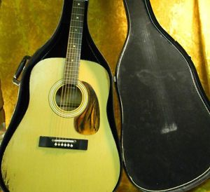 Harmony Acoustic Guitar with Case