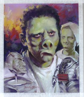 Harley Brown Original Published Art Twilight Zone Filmfax Cover 119 2008