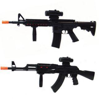 AK47 M16 Rifle Machine Guns Light Sound Light Boy Toy