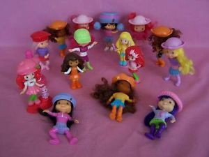 McDonalds Figures Strawberry Shortcake Characters Toy Toys Lot Kids Childs Child