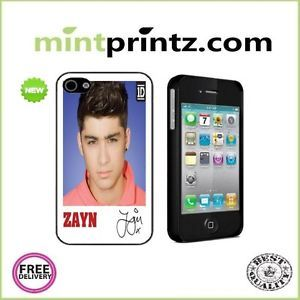 ★ One Direction 1D Zayn Malik Case for Apple iPhone 4 4S Hard Cover Back ★