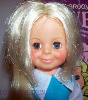 Movin Groovin Velvet in Box Grow Hair Ideal Crissy Family Doll