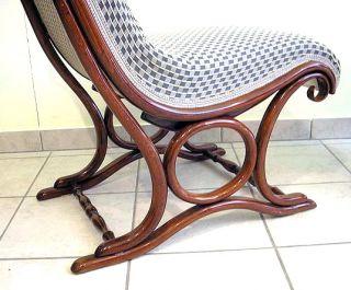 Jugendstil Zwei Thonet Sessel Gepolstert Art Nouveau 2 Thonet Chairs Wien 1906