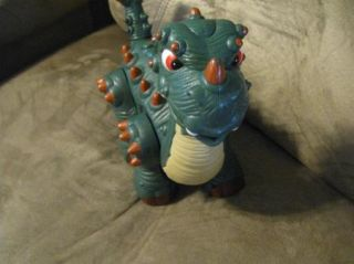 Spike Jr Ultra Dinosaur Toy 2008 Mattel Fisher Price Imaginext Walks and Roars