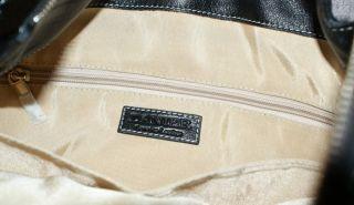 Black Danier Leather Messenger Bag Purse Adjustable