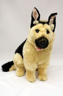 "German Shepherd Dog Plush Toy Stuffed Animal 15"" 38cm New 'Major'"