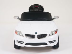 Licensed BMW Power Ride on Toy Kids Remote Control Car Wheel Key Lights