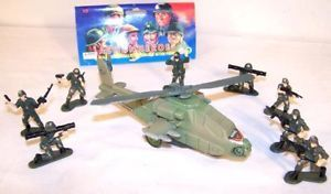 4 Army Action Hero Toy Sets Military Pretend Kids Toys
