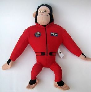 Space Chimps Plush Toy Stuffed Doll Gift Favor Party Suppliesgift Monkey Titan
