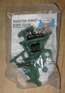 1995 Toy Story Burger King Kids Meal Toy Green Army Men Soldiers