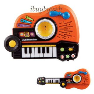 Vtech 80 109600 3 in 1 Musical Band Kid Toy Guitar Drum