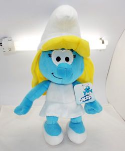 The Smurfs Smurfette Smurf Plush Doll Toy Lovely Girl Gift for Kids 14 inch New