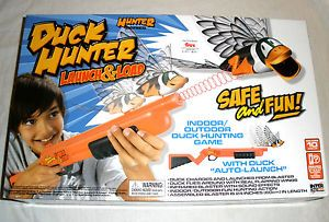 ★new★ Duck Hunter Auto Launch Load Hunting Outdoor and Indoor Game Toys Kids