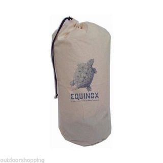Equinox Sleeping Bag Storage Sack 100 Cotton Drawstring Cordlock USA Made