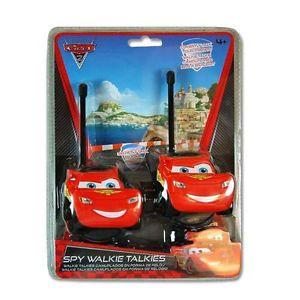Disney Pixar Cars 2 Lightning McQueen Walkie Talkie One Pair Children Spy Toy