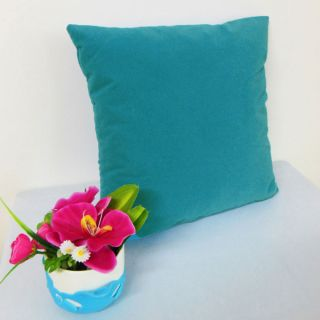 Kingfisher Blue Suede Like Velvet Cushion Cover Case Made to Order U17 CC TP 14