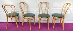 4 Vintage Thonet Bentwood Ice Cream Parlor Cafe Bistro Chairs Poland